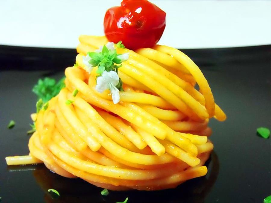 Spaghettoni allo scarpariello